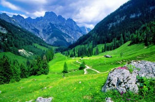mountain-stones-rocks-green-path-beauty-nice-slope-lovely-grass-pretty-peaks-landscape-clouds-cliffs-sky-summer-greenery-beautiful-nature-wallpapers-for-desktop